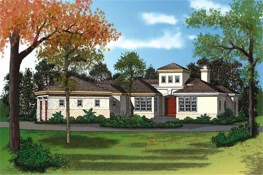 Main image for house plan # 18156