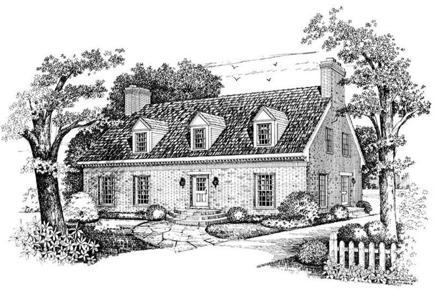 House Plan #137-1371