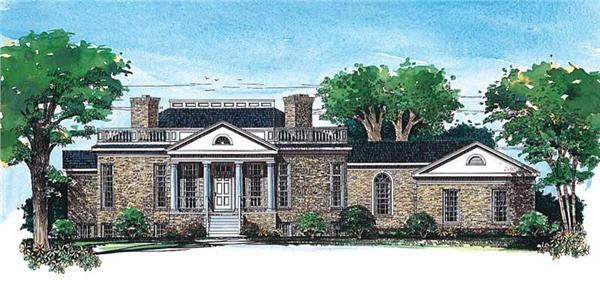 Main image for house plan # 18315