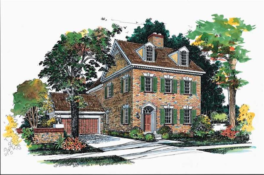 Main image for house plan # 18320