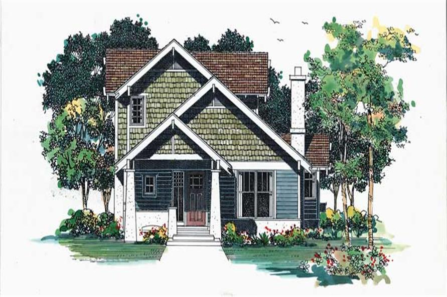 Main image for house plan # 18325