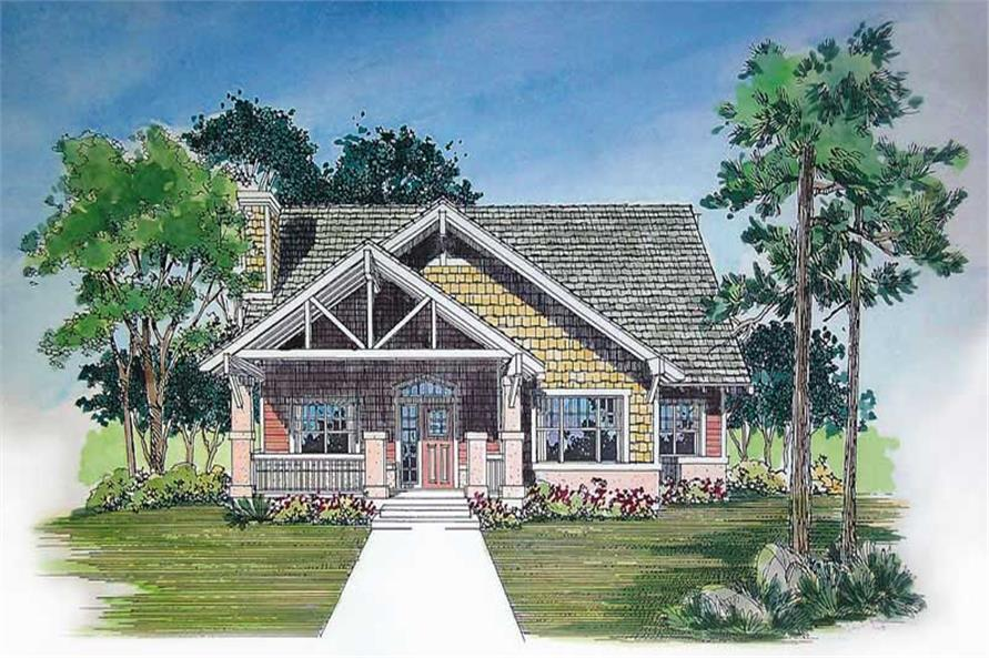 Main image for house plan # 18326