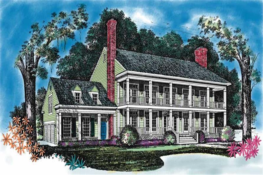 Main image for house plan # 18261