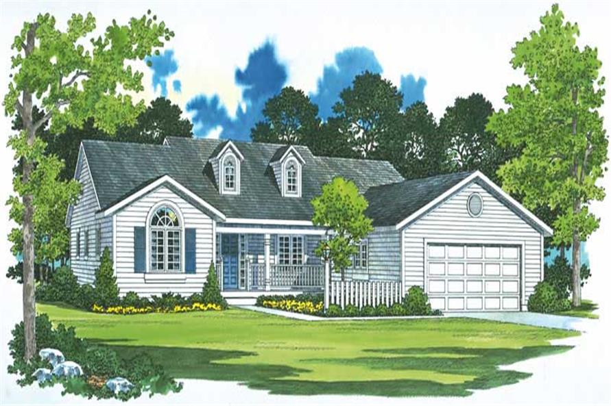 Main image for house plan # 18213