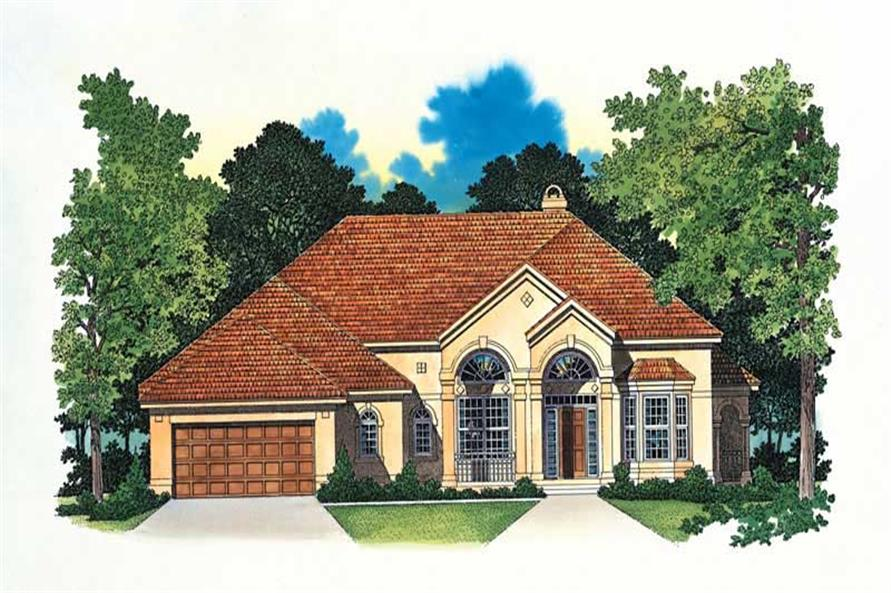 Main image for house plan # 18244
