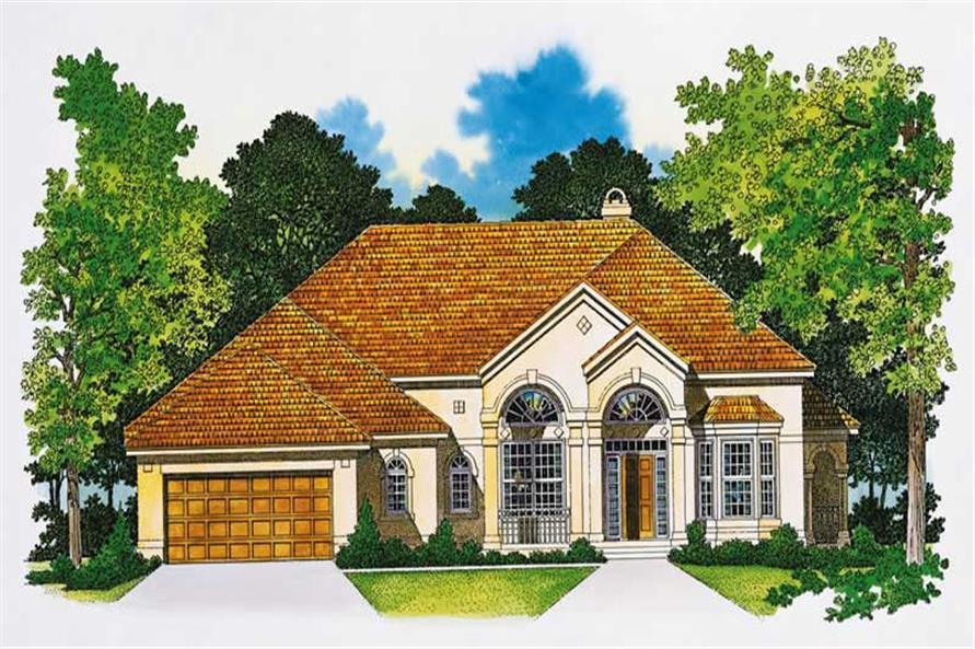 Main image for house plan # 18245
