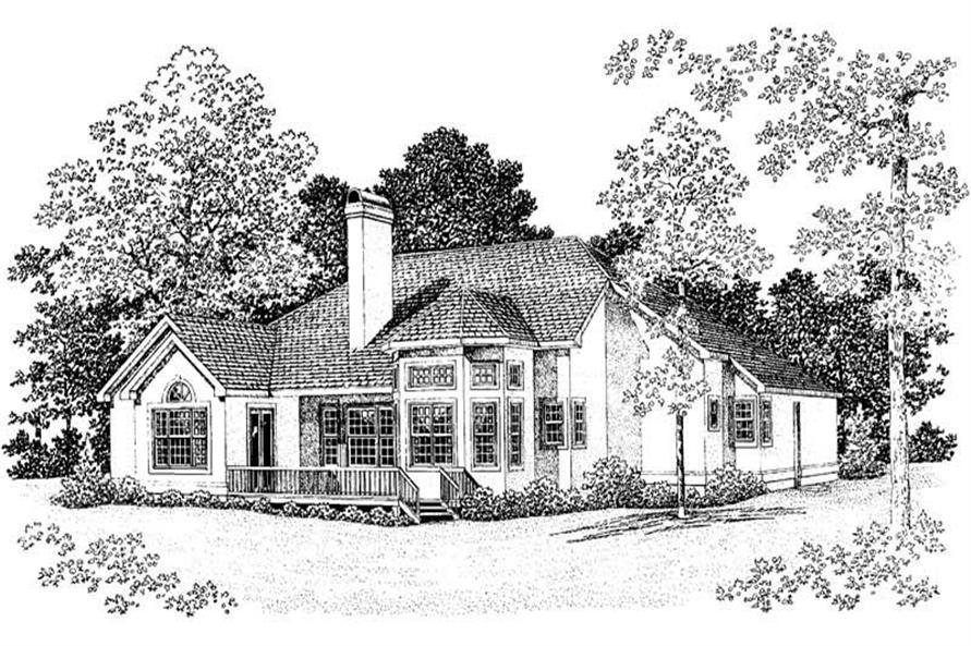 House Plan #137-1391