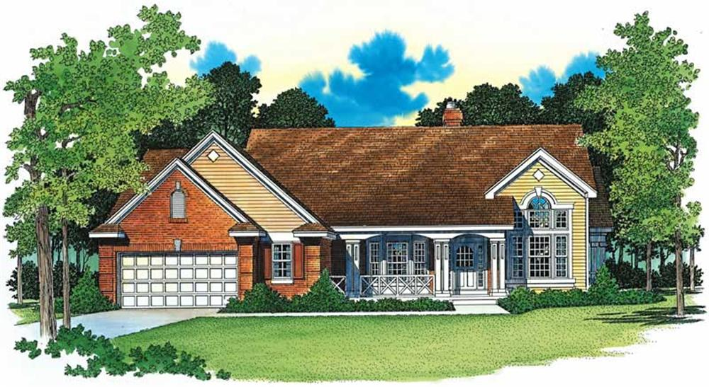 Main image for house plan # 18246