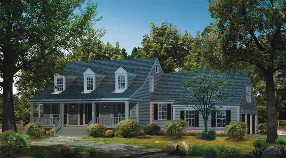 Main image for house plan # 18262