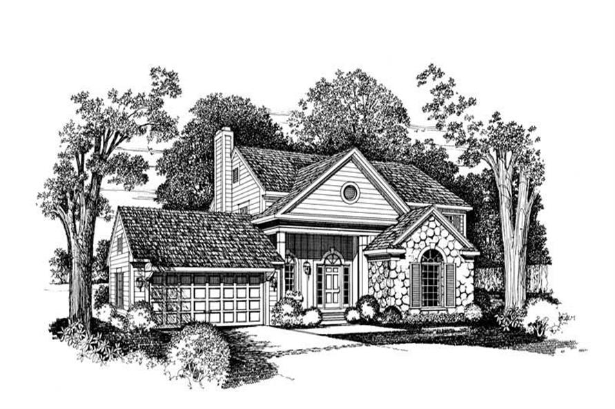 Main image for house plan # 18275