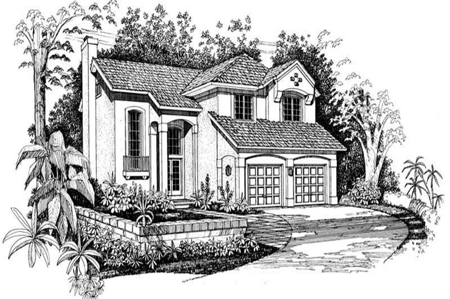 Main image for house plan # 18278