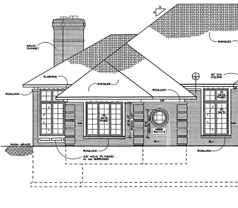 3 Bedrm 2275 Sq Ft Craftsman House Plan 142 1179: Craftsman, Prairie House Plans