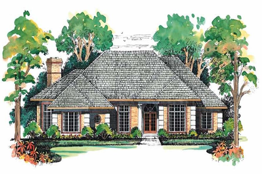 Main image for house plan # 18282