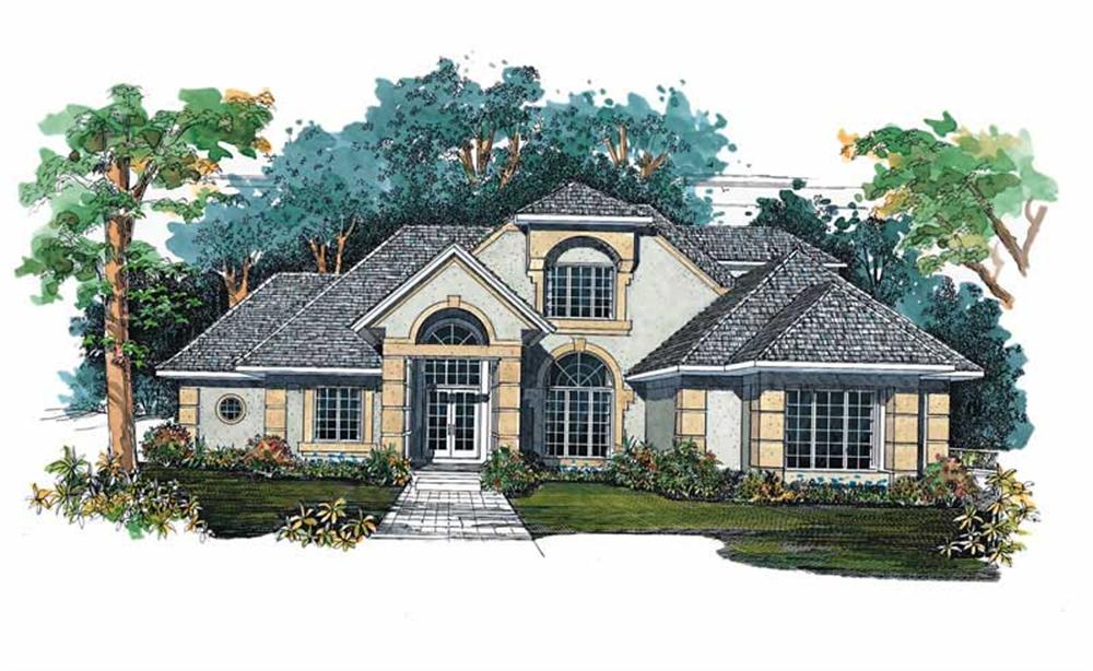Main image for house plan # 18283