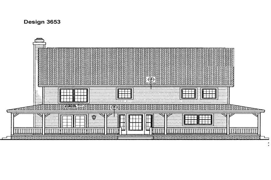 House Plan #137-1403