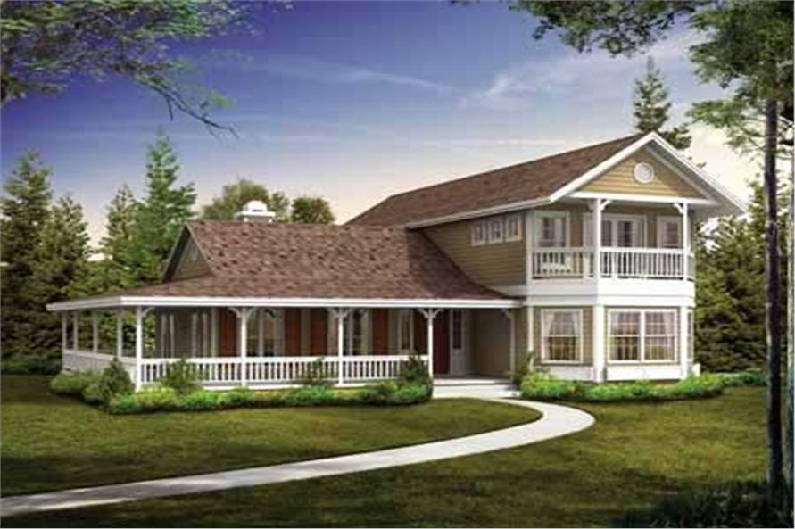 Main image for house plan # 18142