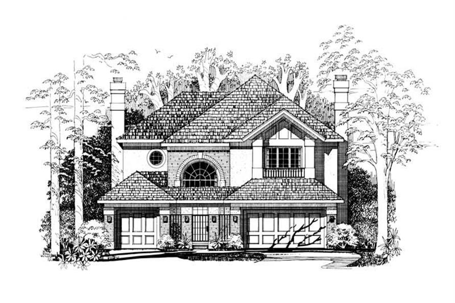 Main image for house plan # 18251