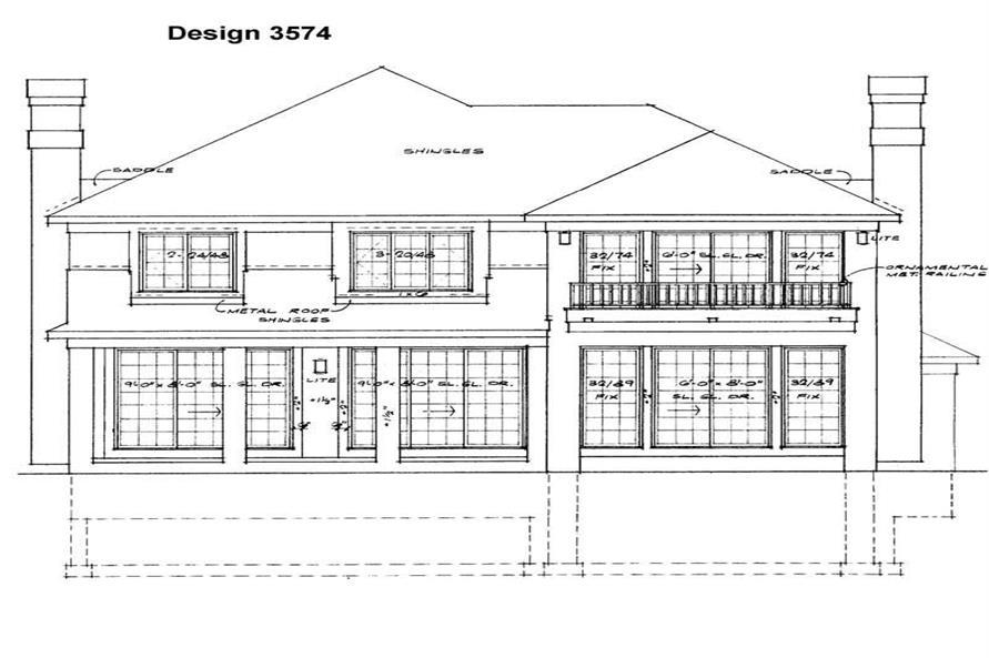 House Plan #137-1405