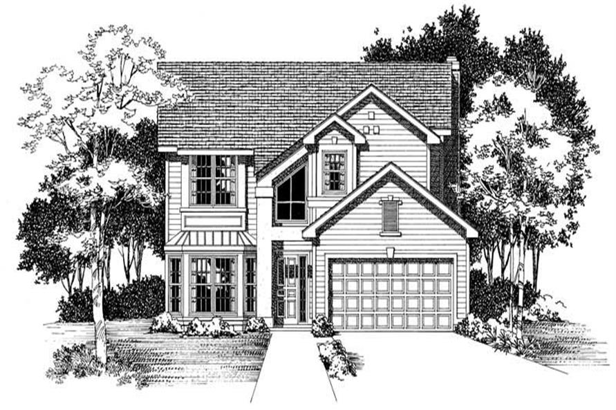 Main image for house plan # 18328