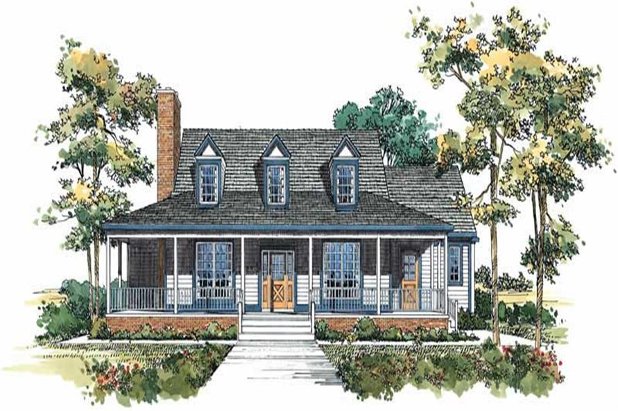 Main image for house plan # 18400