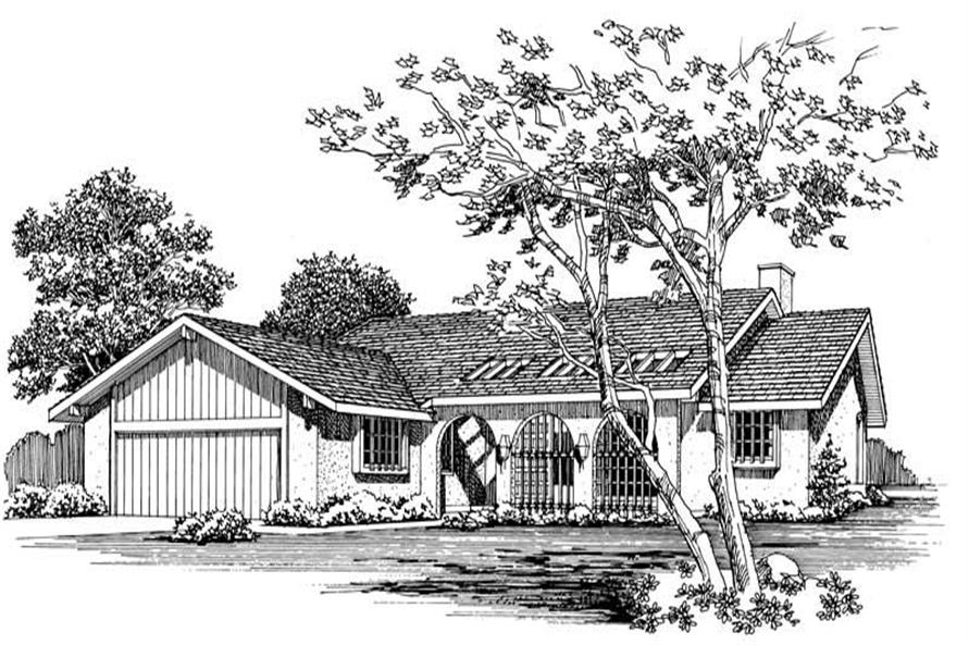 Main image for house plan # 18403