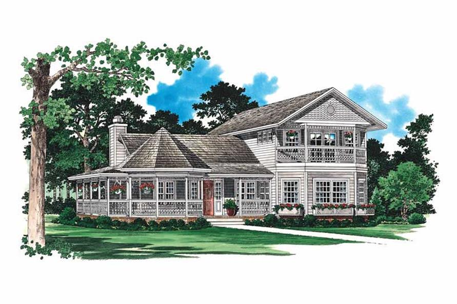 Main image for house plan # 18125