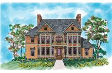 Main image for house plan # 18383