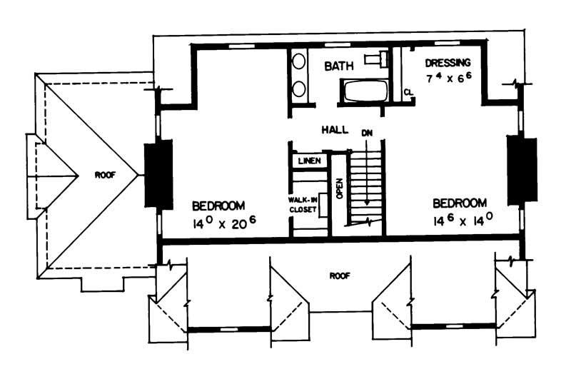 386 HOME PLAN