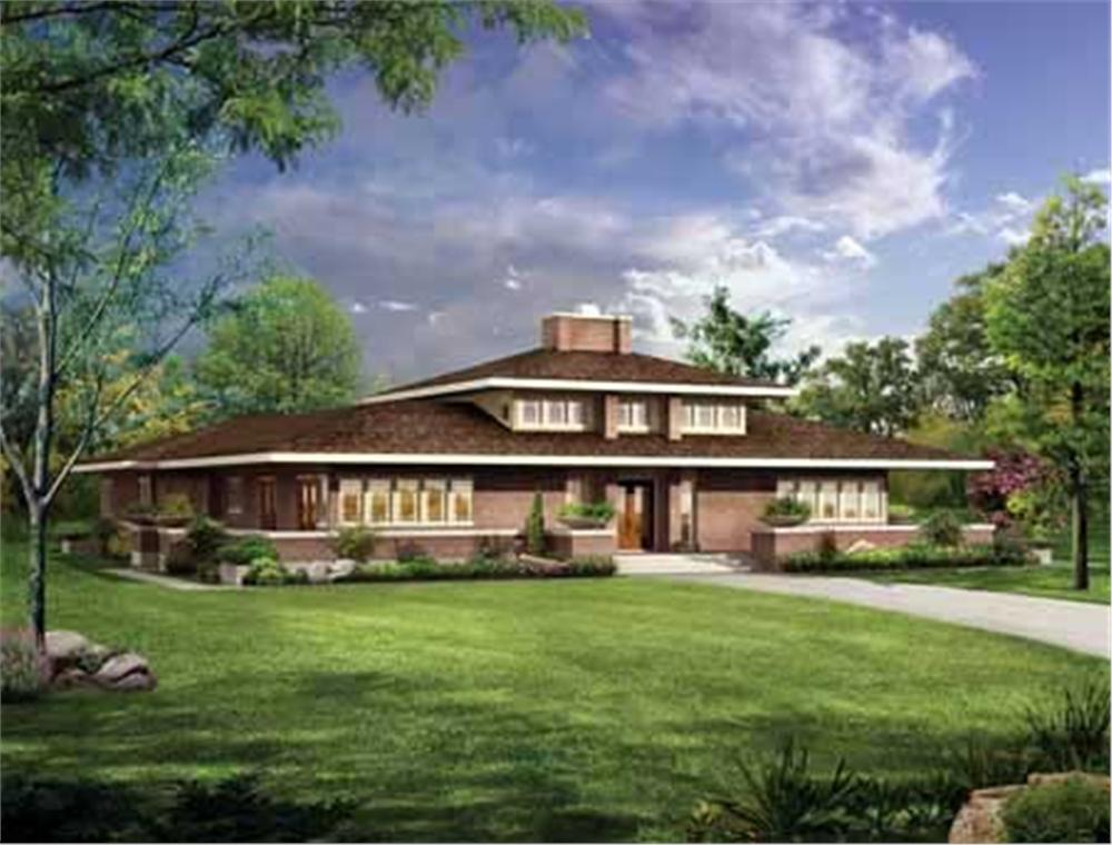 Main image for house plan # 18218