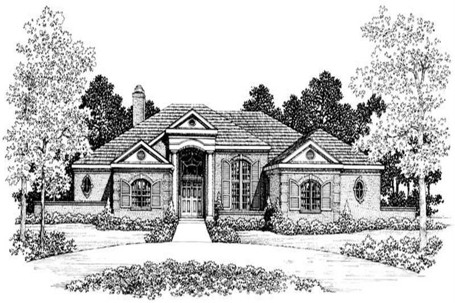 Main image for house plan # 18220