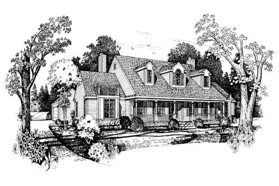 Main image for house plan # 18233