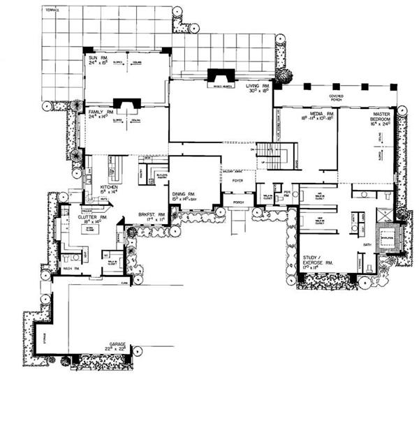 HOUSE PLAN HOMEPLAN OF 2938