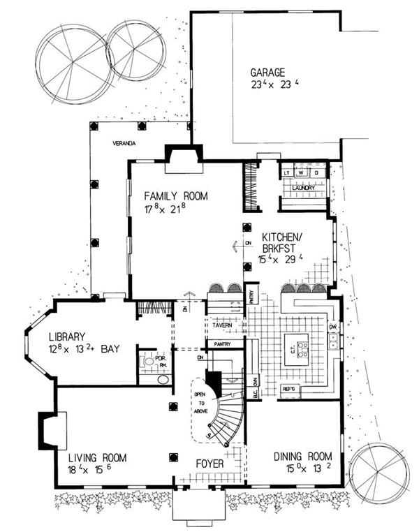 Georgian Colonial House Plans Home Design Hw 3504 18319