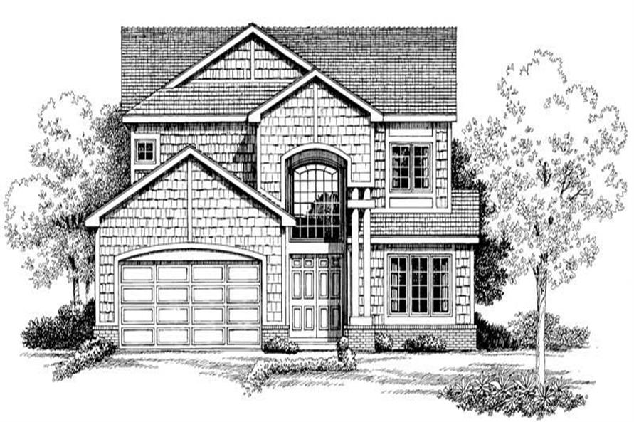 Main image for house plan # 18327
