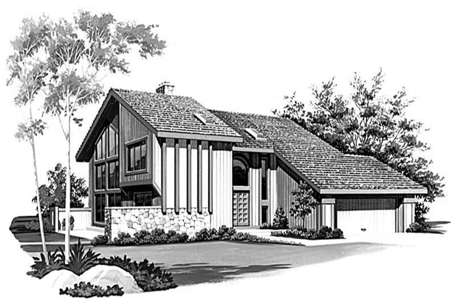 Main image for house plan # 18526