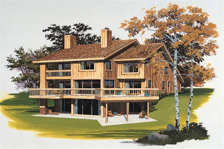 House Plan #137-1438