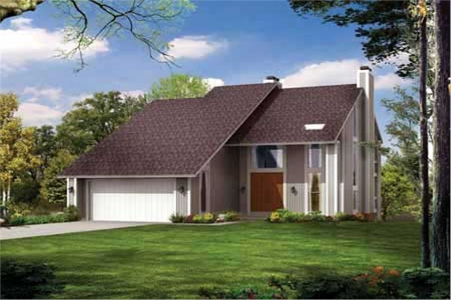 Main image for house plan # 18542