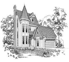 House Plan #137-1439