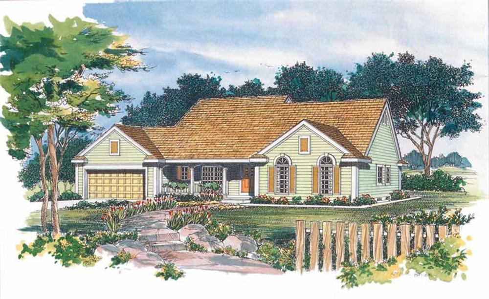 Main image for house plan # 18338