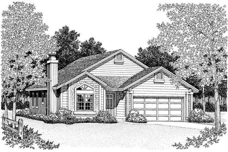 Main image for house plan # 18344