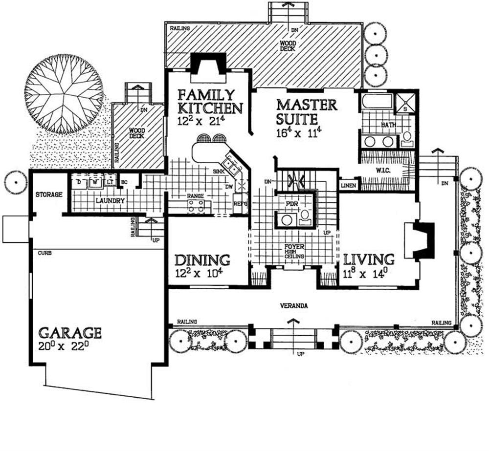 Large Images For House Plan 137 1449