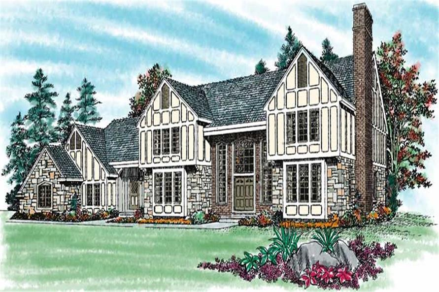 Main image for house plan # 18543