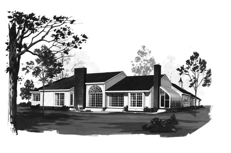 Home Plan Rendering of this 3-Bedroom,2758 Sq Ft Plan -137-1456