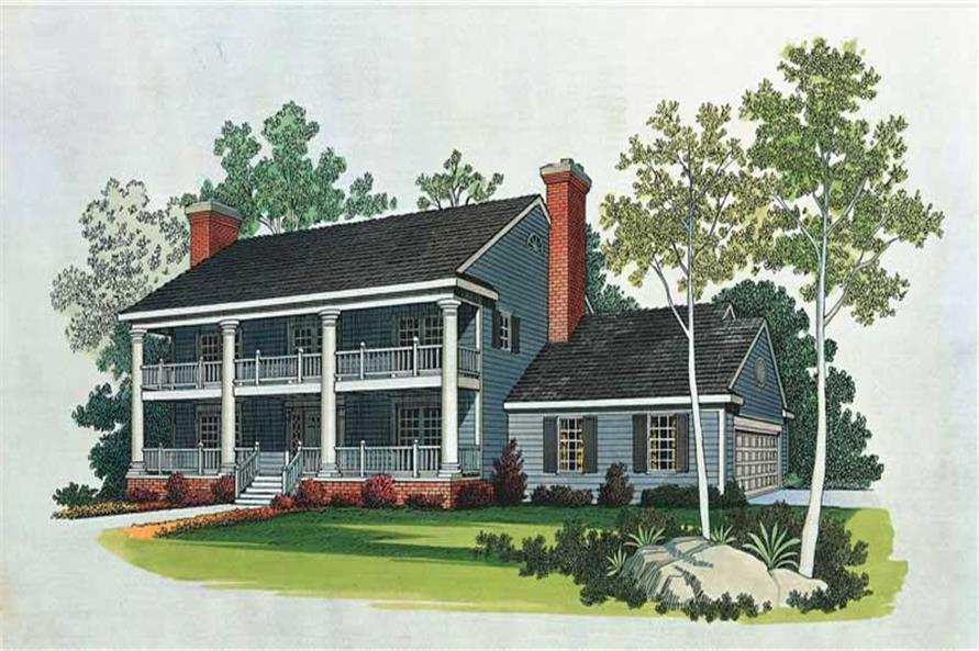 Main image for house plan # 18617