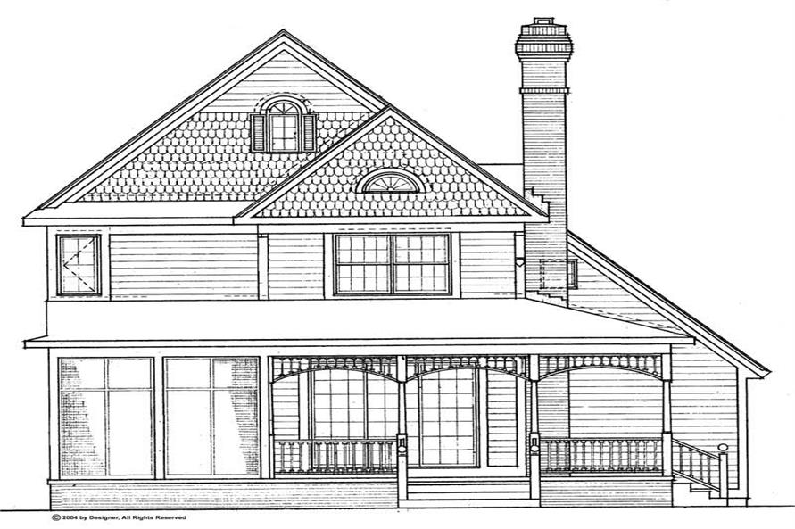 House Plan #137-1463