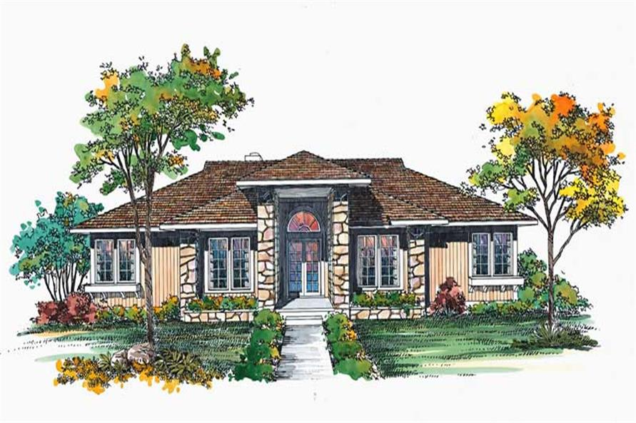 Main image for house plan # 18606
