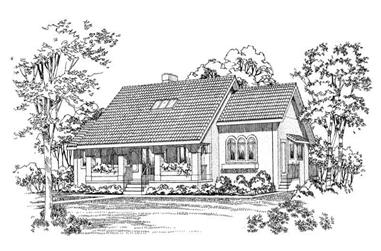 4-Bedroom, 2795 Sq Ft Ranch House Plan - 137-1469 - Front Exterior