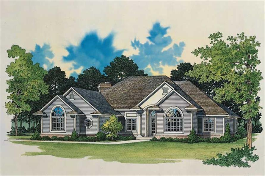 Main image for house plan # 18613