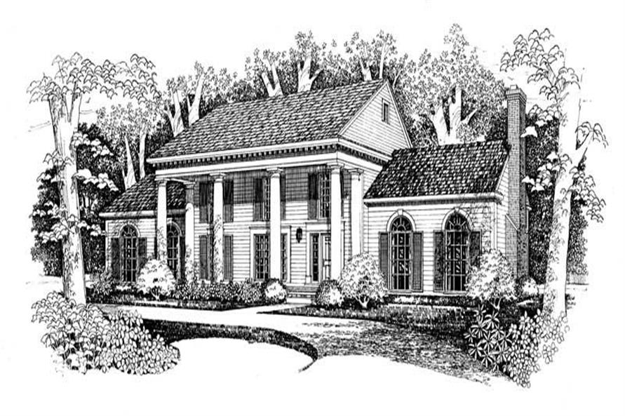 Main image for house plan # 18604