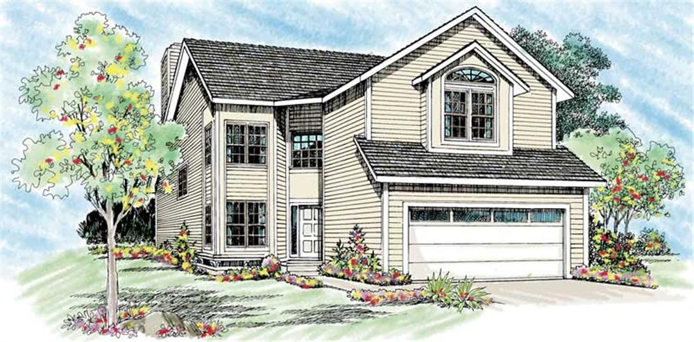 Main image for house plan # 137-1483